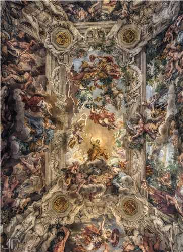 تابلو The Allegory of Divine Providence and Barberini Power