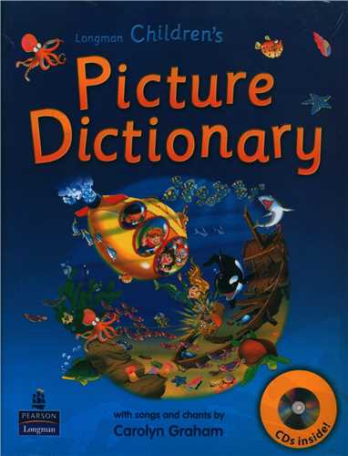 Children Picture Dictionary + CD آبی