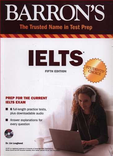 Barrons IELTS + CD (جنگل)