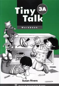 Tiny Talk (3A) (WB) + CD (جنگل)