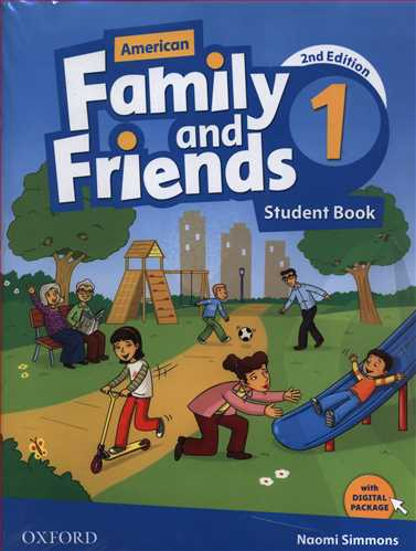 American Family And Friends (1)(S+W) + CD (جنگل)