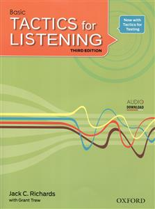Basic Tactics for Listening + Worksheets & Scripts + CD (جنگل)