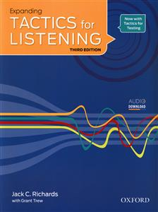 Expanding Tactics for Listening (W&S) + CD (جنگل)