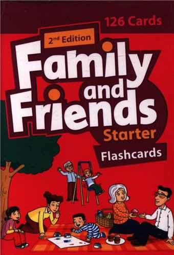 family and friends (starter) (فلش کارت)(جنگل)